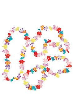 12 Mini Flower Leis #34/92