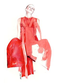 Fashionary Hand - A Fashion Illustration Blog