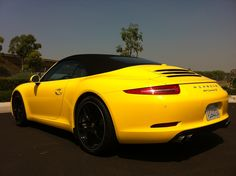 It is a 2013 Porsche 911 Carrera S convertible test driving kind of day at Kelley Blue Book!