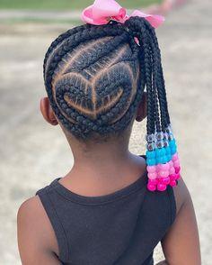 Black Kids Braids Hairstyles, Little Girls Natural Hairstyles, Toddler Braided Hairstyles, Toddler Braids, Lil Girl Hairstyles, Cute Hairstyles For Kids, Braids For Kids, Girls Braids, Kid Braids