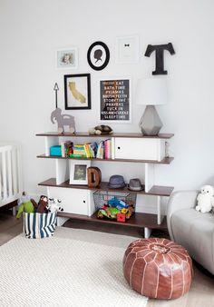 Minimalist Contemporary Kids Furniture Inside Nursery Near Grey Sofa Along With Hardwood Floor Near Clear Crib