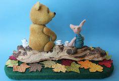 Winnie the Pooh by TANYA SAMOTOSHINA (Tansam), Russia