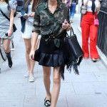 Arrivals at Spring Summer 2015, London Fashion Week, London, Britain - 16 Sep 2014