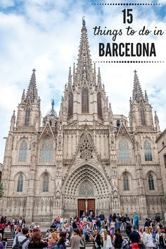 From visiting markets to seeing the works of Gaudi to eating amazing tapas, there are so many great things to do in Barcelona, Spain