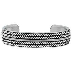 Women's Steel Jewelry - Womens Stainless Steel 15MM Cuff Bangle Bracelet - Gemologica, A Fine Online Jewelry Store #jewelry bracelets  #mens steel bracelets