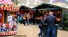 The Christmas Market in Passau, Germany