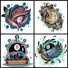 billiards eight ball over a projects to try pinterest tattoo rh pinterest com 8 Ball Tattoo Flash billiard tattoo designs