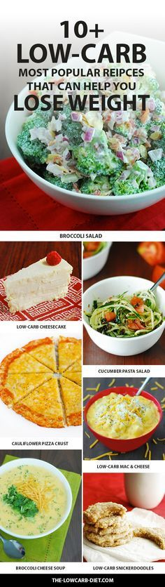 Use these delicious recipes to help you on your path to weight-loss!