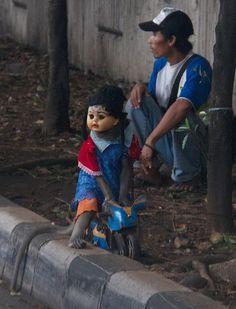 http://indonesia.mycityportal.net - Street Monkey. Jakarta,  Indonesia - #indonesia