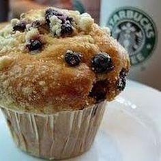 Hacer muffins de arándanos como los del Starbucks