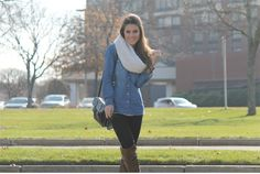 Look do dia: Boots & Jeans!
