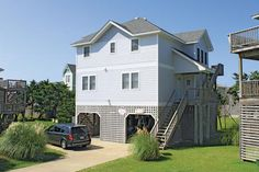 Papaya: 4 Bedroom, 2 1/2 Bath - Elevator - Oceanside - Hatteras NC