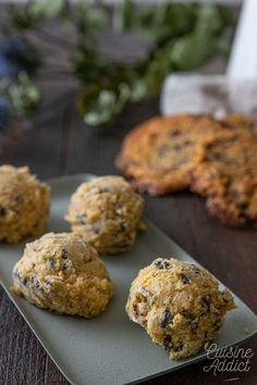 Cookies spécial congélation - Recette de biscuits faciles Chocolate Bonbon, Biscuits Faciles, Batch Cooking, Cookies Et Biscuits, Muffin, Breakfast, Recipes, Food, Kitchen