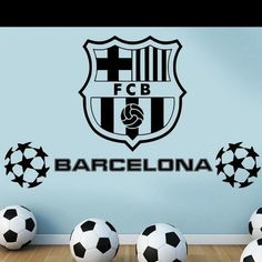 New Real FC football Club Logo Wall Stickers Home Decor Mural Art LARGE BIG size for football fans