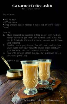 Get ready to steam up your morning or refresh your sleepy afternoon with this favorite ever caramel coffee milk drink.