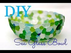 DIY Seaglass bowl