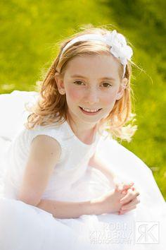 first communion girl http://www.facebook.com/robinkimberly