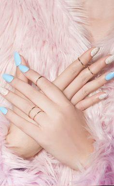 Steph Stone Duo Kit, nail lacquer, glitter, Steph Stone, celebrity manicurist, creme glitter
