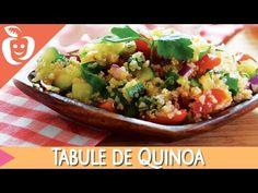 Receita: Tabule de Quinoa - Emagrecer Certo - YouTube