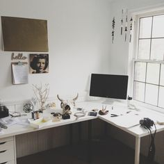 In process of setting up my desk where I do most of my emailing & blogging.