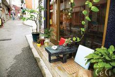 에디터 황보선의 동네 산책, 연남동 동네 카페길 - JoinsMSN 라이프