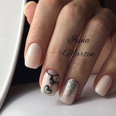 FoxyNails: Маникюр, дизайн ногтей Star Nail Art, Star Nails, Great Nails, Perfect Nails, Beautiful Nail Designs, Beautiful Nail Art, Prom Nails, Wedding Nails, Teen Nails
