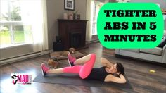 5 MINUTE AB WORKOUT | How to Get Tight Abs Fast | Mad Minute Mixer 🔥Get those abs fired up fast🔥