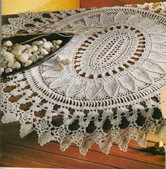 Crochet and arts: Oval doily