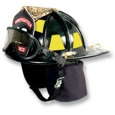 American heritage Fire Helmet Leather