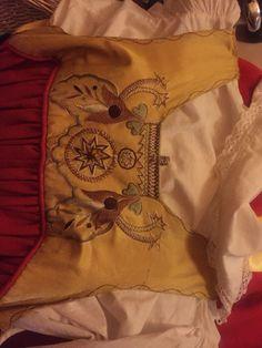 Min dräkt Österåkersdräkten som Drottning Victoria införde som kvinnoplagg på Tullgarns Slott.