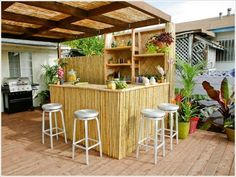 Tiki Backyard Ideas backyard with sand turtles and tails february 2012 Low Budget Outdoor Spaces Amazing Diy Outdoor Bar Ideas For Your Backyard