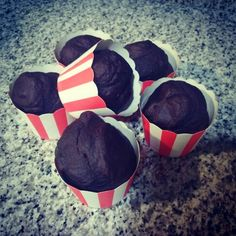 Fit chocolate muffins