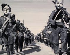 Paintings by Paco Pomet