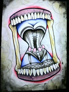 Neo Traditional Tattoo & Flash; I would never get but that looks sweeeeet