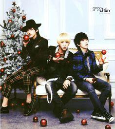 Jinyoung, Baro & Sandeul B1A4
