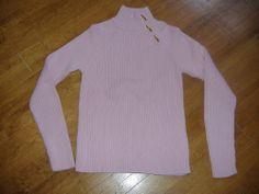 Lauren Ralph Lauren Women Sweater Pink L $79.50 NWT