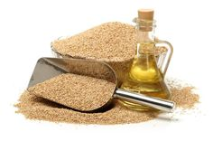 The health benefits of sesame oil include its ability to improve hair & skin health, strong bone growth, reduce blood pressure, increase heart health.