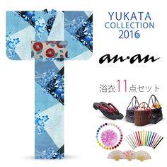 2016 Summer anan Balloon Flowers Blue 11 items set