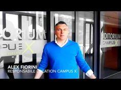 """Campus X Roma Tor Vergata - YouTube  Alex Fiorini presenta la location dell'evento """"Roma Welfair"""" #roma #campus #welfare"""