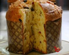 Prepara este pan dulce navideño exquisito! | Italian Christmas Cake, Almond Cakes, Ciabatta, Dried Fruit, Bagel, Biscotti, Bread Recipes, Banana Bread, Cooking