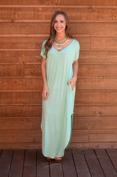 Limitless Maxi Dress - Mint