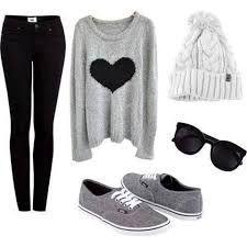 Resultado de imagen para outfits tumblr de invierno
