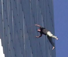 911 People jumping, Falling from the World Trade Center . We Will Never Forget, Lest We Forget, World Trade Center, Us History, American History, Titanic History, 911 Twin Towers, Wtc 9 11, 11 September 2001