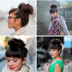 Messy Top Knot Updo   Kenra Professional Hairstyle Inspiration