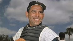 Yankees Hall of Fame catcher Yogi Berra dies at 90 Damn Yankees, Yankees Fan, New York Yankees, Mlb, Gary Sanchez, Lou Gehrig, Willie Mays, Joe Dimaggio, Mickey Mantle