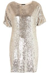 So many cute dresses on this website!!! Premium Sequin T-Shirt Dress