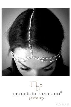 Summer Crown!!! A Queen will Always Shine Bright... #UnaVerdaderaJoya  #MauricioSerrano #Mexico #2014 #Love #Fashion #Art #Joyas #Diseñador #Happiness #Summer #Silver #Plata #Jewelry #Crown