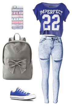 """"""" fashion 304 """" by veronicaleigh777 on Polyvore featuring !M?ERFECT, Converse, Candie's and Casetify"""