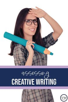 When assessing creative writing, use rubrics and focus on the implementation of ideas, not the effectiveness. Students should feel comfortable experimenting with writing. English Lesson Plans, English Lessons, High School English, In High School, Writing Lessons, Writing Resources, Creative Writing Ideas, Teaching Secondary, Middle School Writing