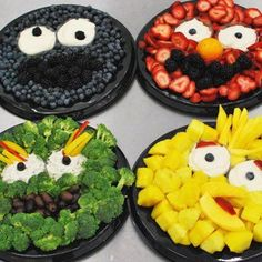 Creative veggie & fruit trays